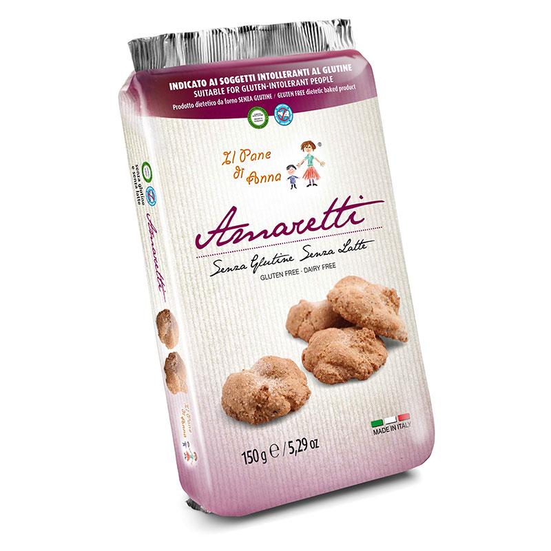 Amaretti Senza Glutine E Senza Latte Da 150 G Il Pane Di Anna